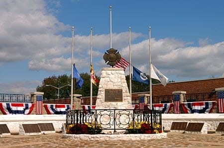 photo of the National Fallen Firefighters Memorial